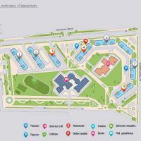 общая планировка комплекса жк Горгиппия в Анапе