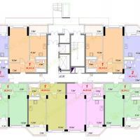 Секция 1Б - 1 этаж