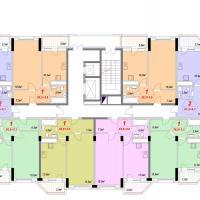 Секция 1Б - 4 этаж