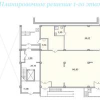 Секция 5 этаж 1 Планировка ЖК Лазурное побережье