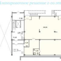 Секция 8 этаж 1 Планировка ЖК Лазурное побережье