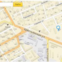 Расположение ЖК Лазурный на карте