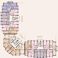 1 очередь 2-3 этаж