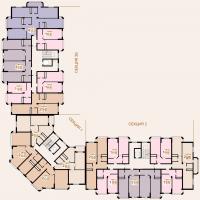 1 очередь 4-5 этаж