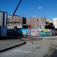 10 февраля, ставят опалубку второго этажа