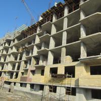 начало строительства, весна 2015