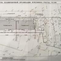 ЖД ул. владимирская 114 Анапа, генплан