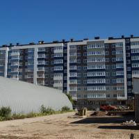 жк Каскад, фасад дома готов, октябрь 20.10.2015