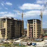 ход строительства, август 2015