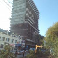 жк Лермонтова, фасад, конец октября 15 годв