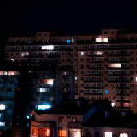 фото с соседнего дома вид ночью