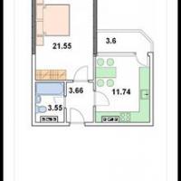 жк трио, планировка квартиры