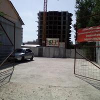 ЖК Оранж вид через автобазу со стороны ул. Стахановская