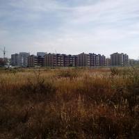 Вид на Стройград, Ленина 178, со стороны моря, 06.10.15