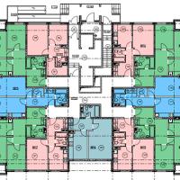 Планировка квартир 1 этаж