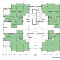 Планировка квартир 17 этаж
