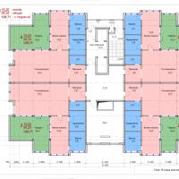 Планировка квартир 18 этаж