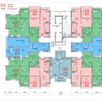 Планировка квартир 5-16 этаж