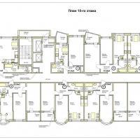 ЖК Меркурий планировка 15 этажа