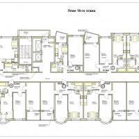 ЖК Меркурий планировка 16 этажа
