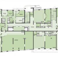 Планировка 1 этажа в ЖК Мечта