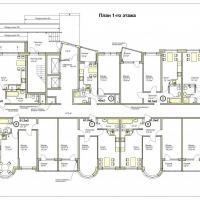 ЖК Меркурий планировка 1 этажа