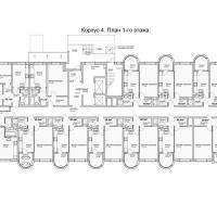 ЖК Кавказ, этап 3, планировка этажа 1