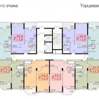 жк Владимирская 150, 1 секция, 3 этаж