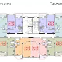жк Владимирская 150, 1 секция, 8 этаж