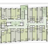 Планировка типового этажа в ЖК Мечта (тип 1)
