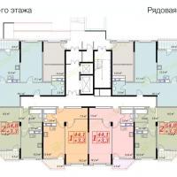 жк Владимирская 150, 2 секция, 2 этаж