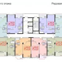 жк Владимирская 150, 2 секция, 6 этаж