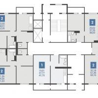 3 подъезд планировка 1 этажа