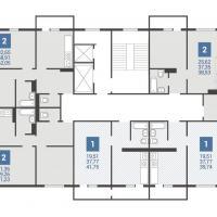 3 подъезд планировка этажа