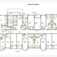 ЖК Меркурий планировка3 этажа