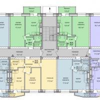 жк Стройград планировки типового этажа