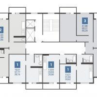 4 подъезд планировка этажа