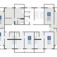 5 подъезд планировка 1 этажа