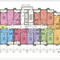 ЖК Фамильный, планировки 11 этаж