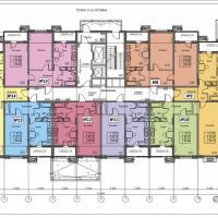 ЖК Фамильный, планировки 2 этаж