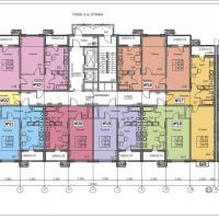 ЖК Фамильный, планировки 3 этаж