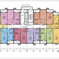 ЖК Фамильный, планировки 4 этаж