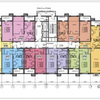ЖК Фамильный, планировки 5 этаж