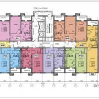 ЖК Фамильный, планировки 6 этаж