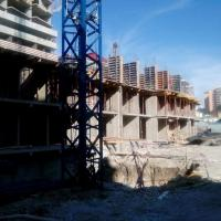 ЖК Солнечный город, 08.05.16 возводят третий этаж