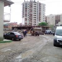 ЖК Уютный, ход строительства 01.05.16 подняли цоколь