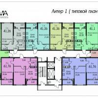 Планировки дома №1