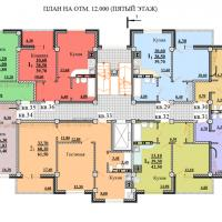 ЖК Некрасовский, секция 1, этаж 5