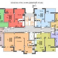 ЖК Некрасовский, секция 1, этаж 9