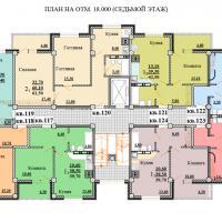 Планировки ЖК Некрасовский, секция 2, этаж 7